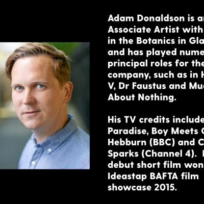Adam Donaldson - biography and photograph