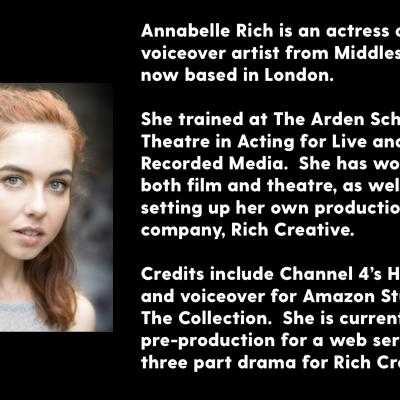 Annabelle Rich - biography and photograph