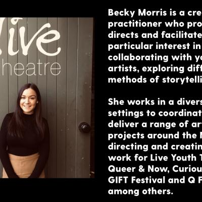 Becky Morris headshot and biography