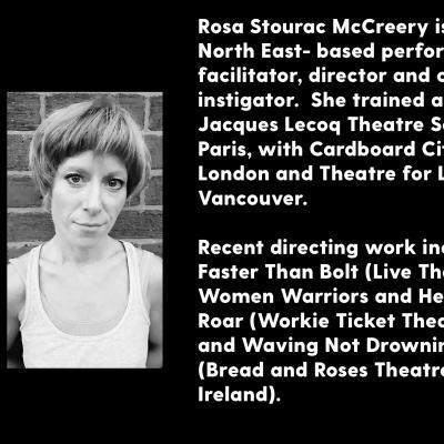 Rosie Stourac McCreery - biography and photograph