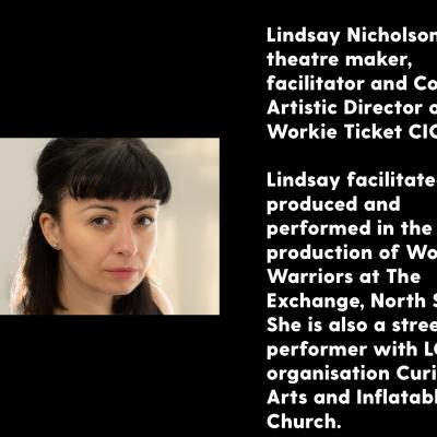 Lindsay Nicholson - biography and photograph