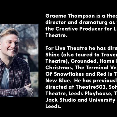 Graeme Thompson - biography and photograph