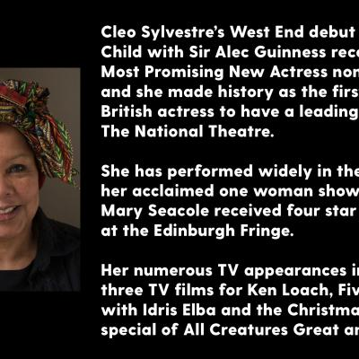 Cleo Sylvestre headshot and biography