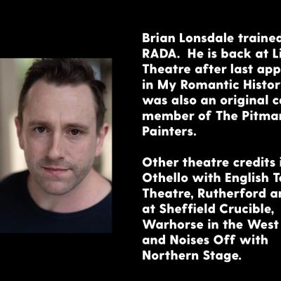 Brian Lonsdale headshot and biography