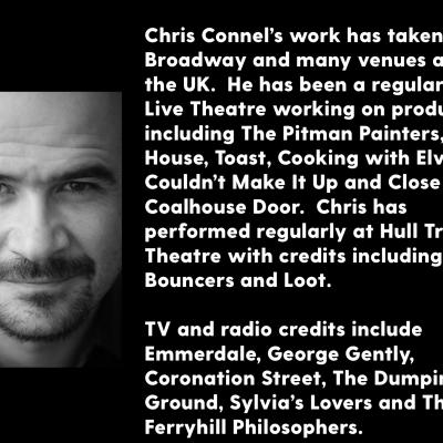 Chris Connel headshot and biography