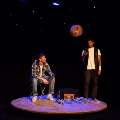 Kyle Rowe and Darren Kuppan in Under Three Moons