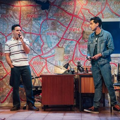 Nicholas Prasad and Karan Gill in Approaching Empty