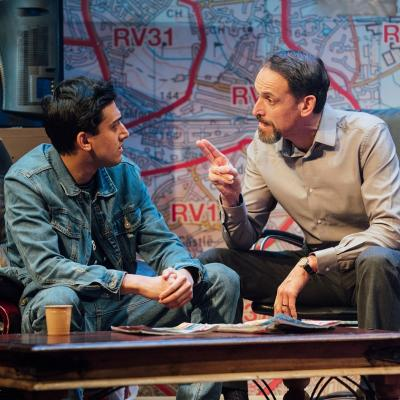 Karan Gill and Nicholas Khan in Approaching Empty