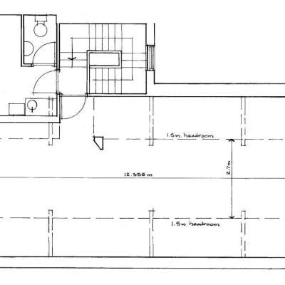 Plan of Attic Floor