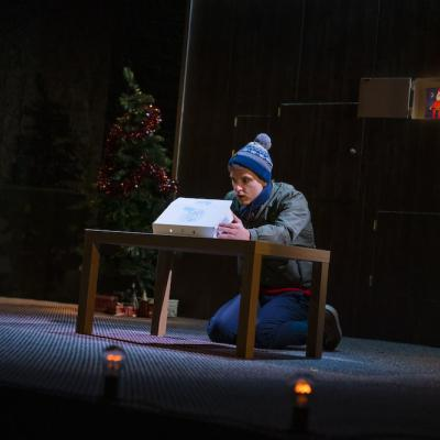 Daniel Watson in Grounded - Christmas Crackers