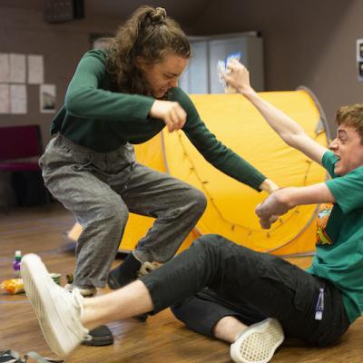 Jackie Edwards & David Fallon in Cheer Up Slug