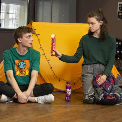 David Fallon & Jackie Edwards in Cheer Up Slug