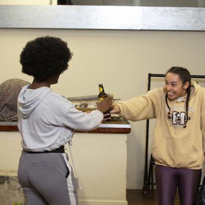 Xsara-Sheneille Pryce & Rochelle Goldie in Braids