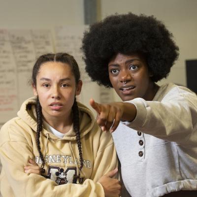Rochelle Goldie & Xsara-Sheneille Pryce in Braids