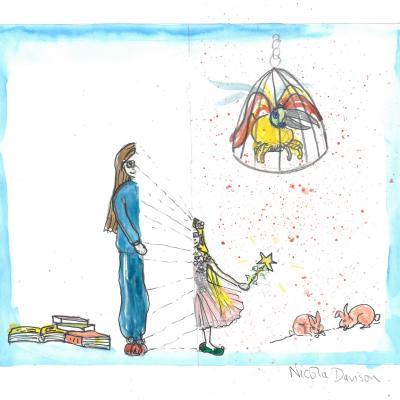 Live Tales illustration by Nicola Davison