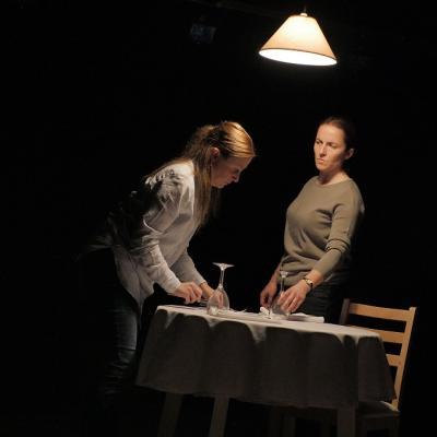 Christina Berriman Dawson and Eilidh Talman in Rattle Snake