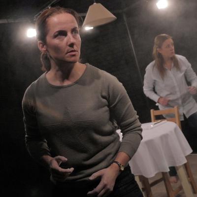 Eilidh Talman & Christina Berriman Dawson in Rattle Snake