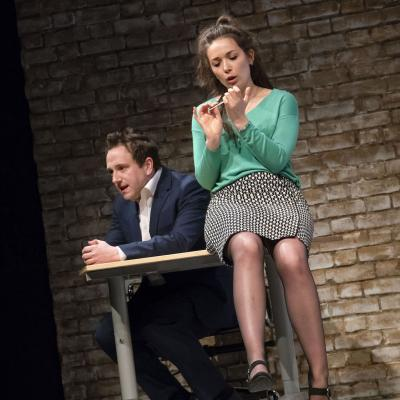 Brian Lonsdale and Bryony Corrigan in My Romantic History
