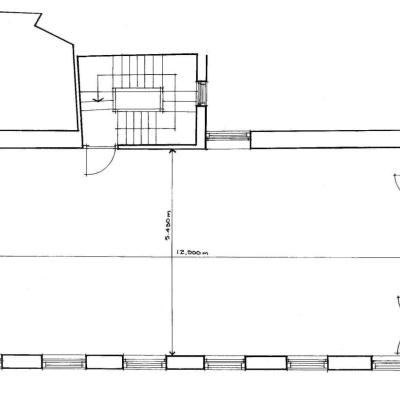 Plan of Schoolhouse Second Floor
