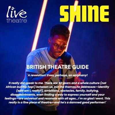 Shine - British Theatre Guide Review from 2019
