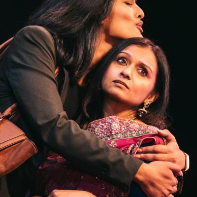 Ariya Larker & Dixita Pandya in The Big Welcome