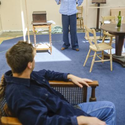 James Gladdon & Cate Hamer in The Offing