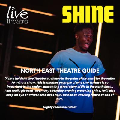 Shine - North East Theatre Guide Review from 2019