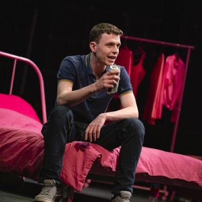 Wank Buddies written and perfomed by Jake Jarratt and Cameron Sharp in Elevator Festival 19 at Live Theatre