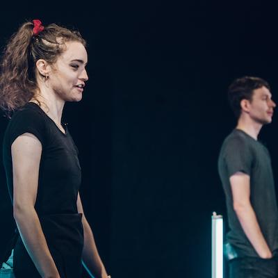 Jackie Edwards and Jake Jarratt in Invisible Boundaries