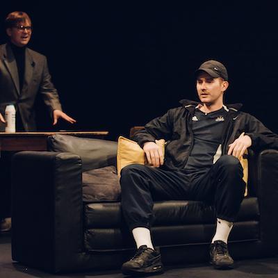 Adam Donaldson & Mitch Donaldson in Blyth Spirit