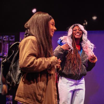 Rochelle Goldie and Xsara-Sheneille Pryce in Braids