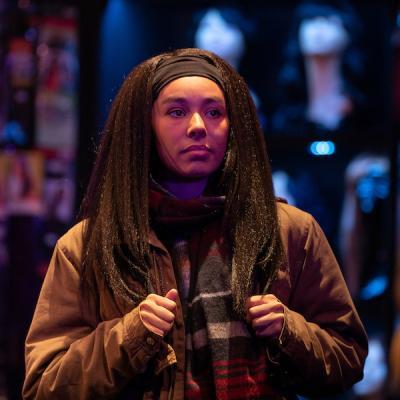Rochelle Goldie in Braids