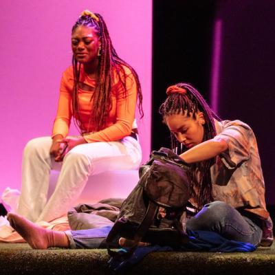 Xsara-Sheneille Pryce and Rochelle Goldie in Braids