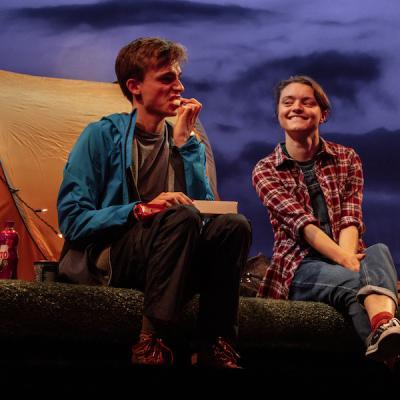 David Fallon and Jackie Edwards in Cheer Up Slug