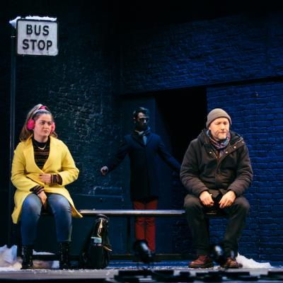 Eilish Stout-Cairns, William Wyn Davies and David Raynor in Those Yet To Come