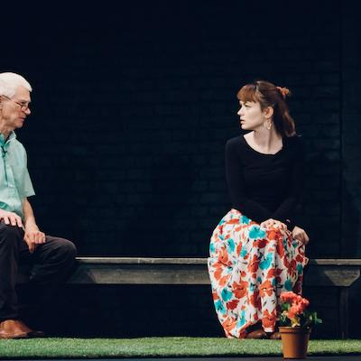 Donald McBride and Samantha Neale in Gutter Weeds