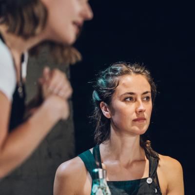 Jude Nelson and Francesca Tomlinson in Sheltered