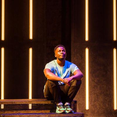 Kema Sikazwe in Shine at Live Theatre, Newcastle 2021