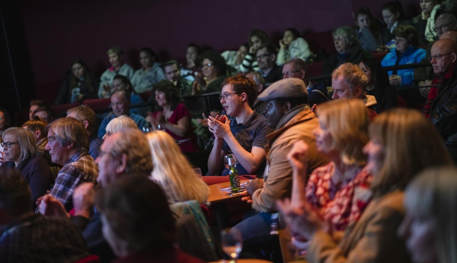 Photo of audience in a theatre