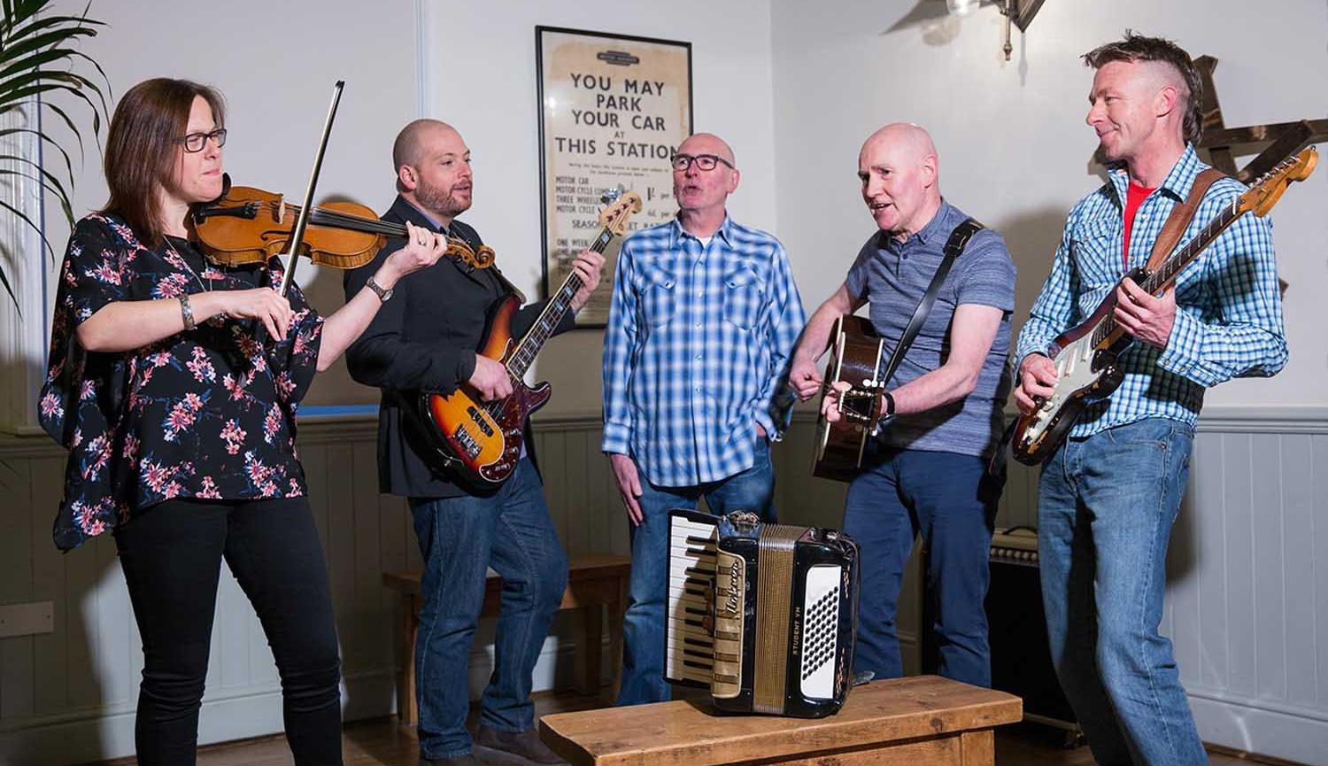 The Caffreys musicians