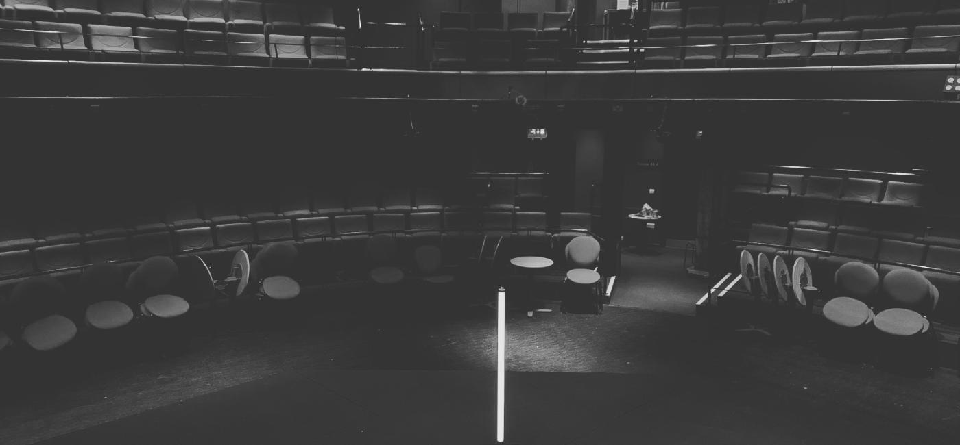 Ghost Light left on at Live Theatre