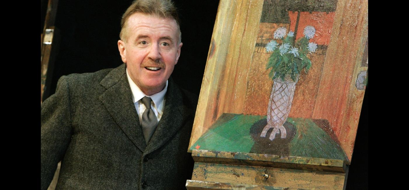David Whitaker in the Pitman Painters at Live Theatre