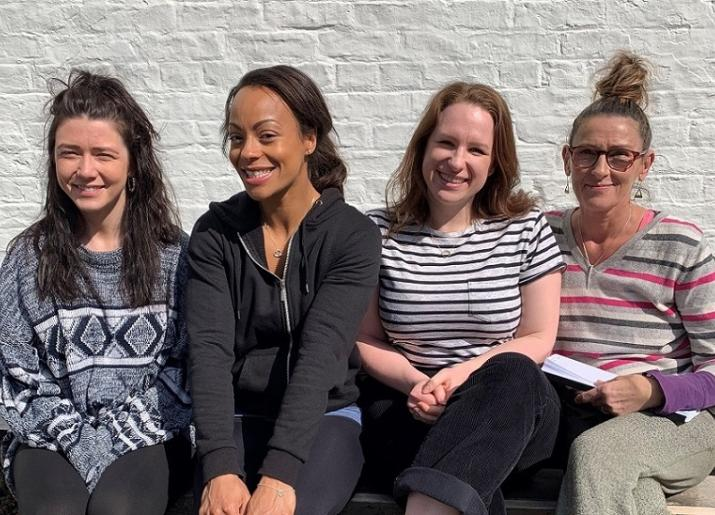 Heather Carroll, Sarah Lewis Obuba, Rosie Stancliffe & Tracy Gillman