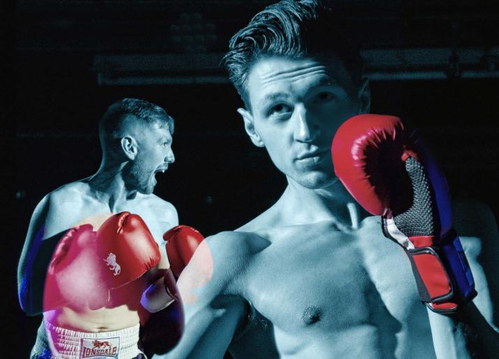 Gypsy Queen photo of two men boxing