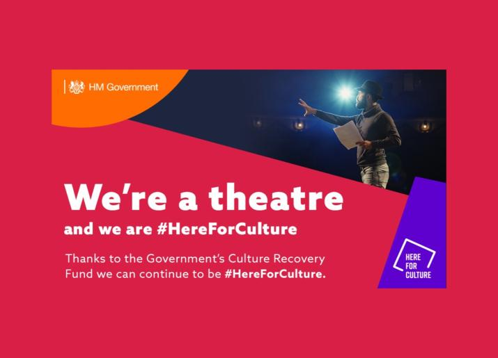 We're a theatre and we are HereForCulture