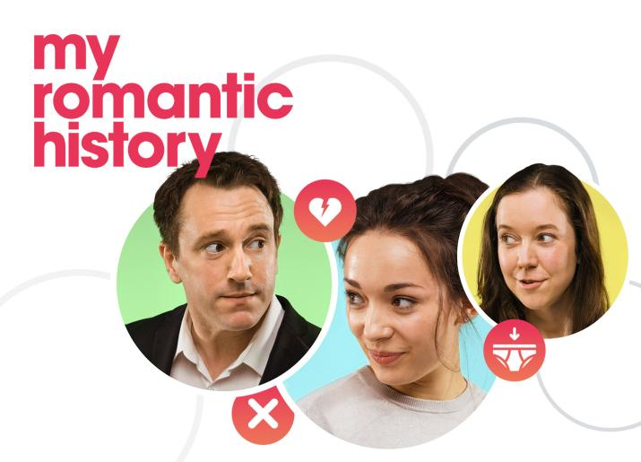 My Romantic History the play at Live Theatre, Newcastle