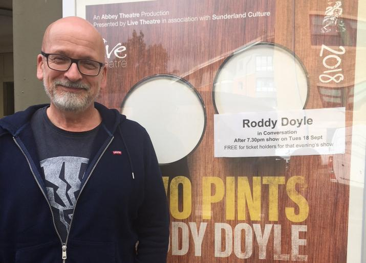 Roddy Doyle at Live Theatre