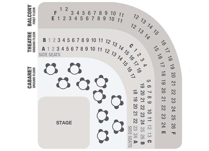 Theatre Seating Plan