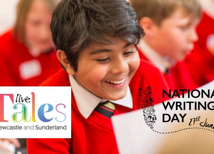 Live Tales National Writing Day Challenge 2018